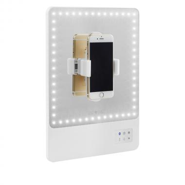 Визажное светодиодное зеркало Riki Skinny от GLAMCOR